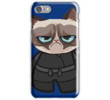 Grumpy Ninja Cat iPhone Case/Skin