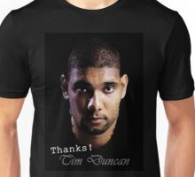 Tim Duncan Thanks 1998-2016 Unisex T-Shirt