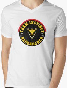 Pokémon Go - Team Instinct Researcher Mens V-Neck T-Shirt