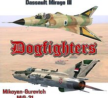Mirage vs MiG-21 by Mil Merchant