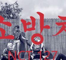 NCT 127-Fire Truck Sticker