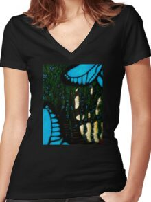 If Heaven Has Trees Women's Fitted V-Neck T-Shirt