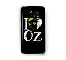 I Love Oz. Wicked. Samsung Galaxy Case/Skin