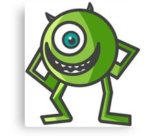 Mike Wazowski -  Monsters Inc. Canvas Print