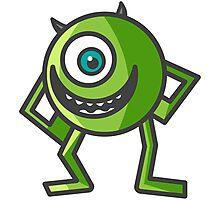 Mike Wazowski -  Monsters Inc. Photographic Print