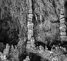 Carlsbad Caverns Study 9 by Robert Meyers-Lussier