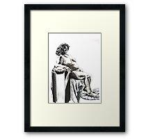 Shaman Woman Framed Print