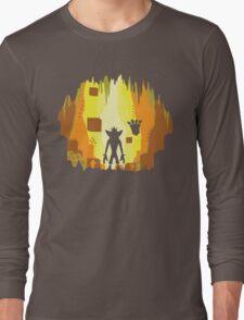 Wumpa World Long Sleeve T-Shirt