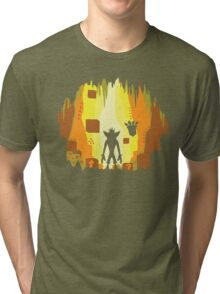 Wumpa World Tri-blend T-Shirt