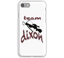 Team Dixon iPhone Case/Skin