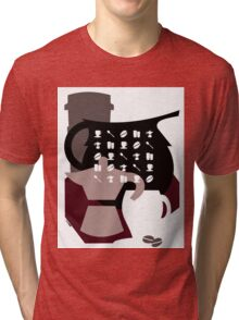 Coffee Shirt Tri-blend T-Shirt