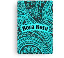 Bora Bora Florist Canvas Print