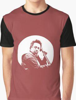mingus portrait  (for dark background) Graphic T-Shirt