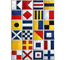 nautical flags Photographic Print