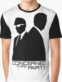 Person of Interest - Concerned third Party Graphic T-Shirt