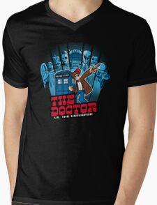 The Doctor VS Mens V-Neck T-Shirt