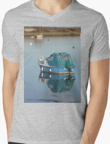 Blue Reflection Mens V-Neck T-Shirt