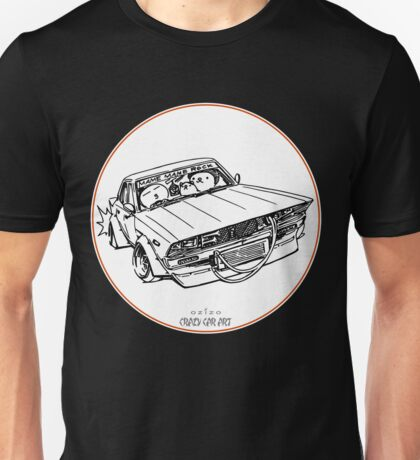 Crazy Car Art 0102 Unisex T-Shirt