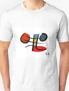Living lines full of life Unisex T-Shirt