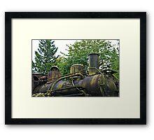 Locomotive Engine Framed Print