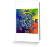 GALLIMAUFRY ~ Peacock by tasmanianartist Greeting Card