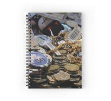 Winnings - coins Spiral Notebook