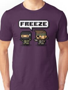 "-METAL GEAR SOLID- Pixel ""Freeze"" Unisex T-Shirt"