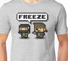 "-METAL GEAR SOLID- Pixel ""Freeze"" Unisex T-Shirt"