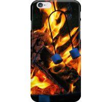 Blue Marshmallows iPhone Case/Skin
