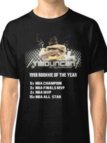Tim Duncan the big fundamental Classic T-Shirt