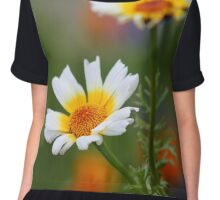 Crown Daisies Chiffon Top