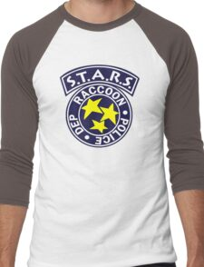 -GEEK- Raccoon Police Men's Baseball ¾ T-Shirt