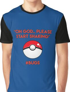 Pokemon GO: #Bugs T-Shirt (Funny) Graphic T-Shirt