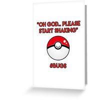 Pokemon GO: #Bugs T-Shirt (Funny) Greeting Card