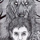 Werewolf Will (bw) by Furiarossa