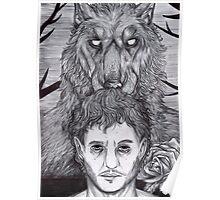 Werewolf Will (bw) Poster
