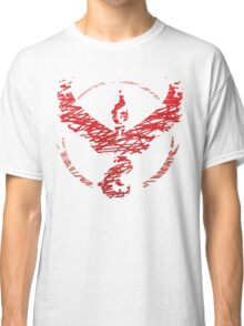 Team Valor Scribble Classic T-Shirt