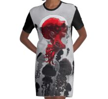 Control Graphic T-Shirt Dress