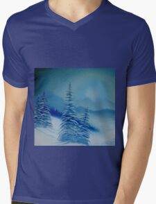 alpine sunrise Mens V-Neck T-Shirt