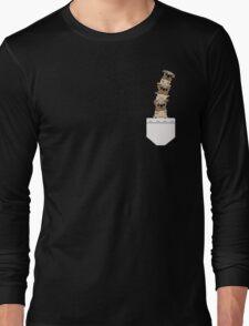 Pugs in a pocket Long Sleeve T-Shirt