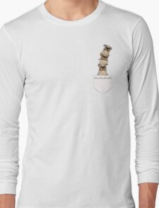 Pugs in a pocket Long Sleeve T-Shirt