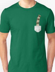 Pugs in a pocket Unisex T-Shirt