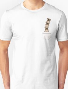Pugs in a pocket Unisex T-Shirt