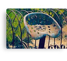 Rusty Seat Canvas Print