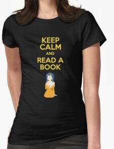 Read a Book Womens Fitted T-Shirt