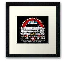 Ray's Repairs and Restoration Framed Print