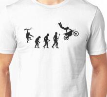Evolution Dirtbike Funny T Shirt Unisex T-Shirt