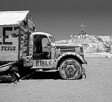 Salvation Mountain Truck by Larry Costales