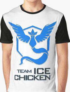 Team Ice Chicken Graphic T-Shirt