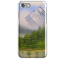 morning in the mountains iPhone Case/Skin
